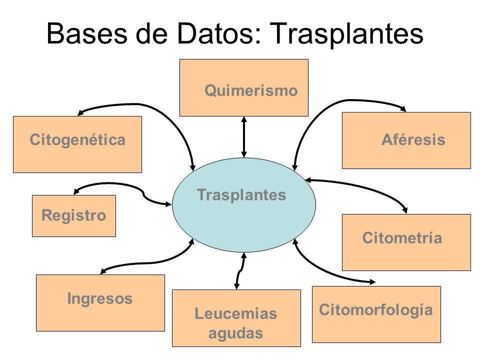 Bases de Datos: Trasplantes