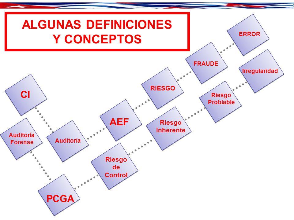 ALGUNAS DEFINICIONES Y CONCEPTOS