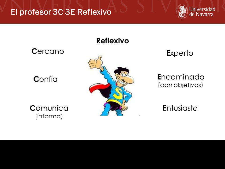 El profesor 3C 3E Reflexivo