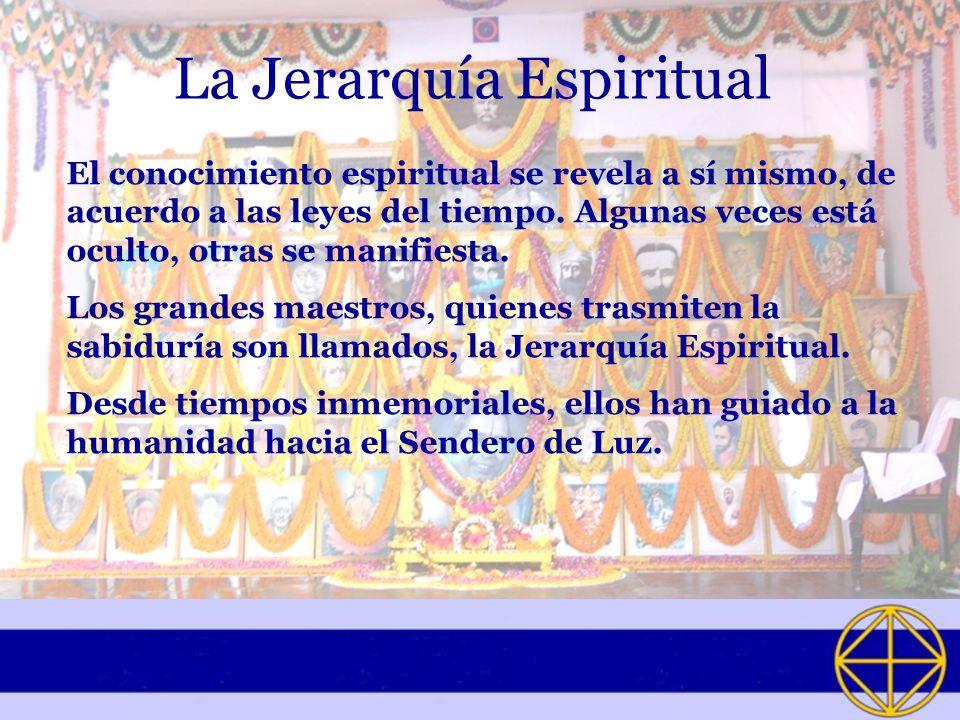 La Jerarquía Espiritual