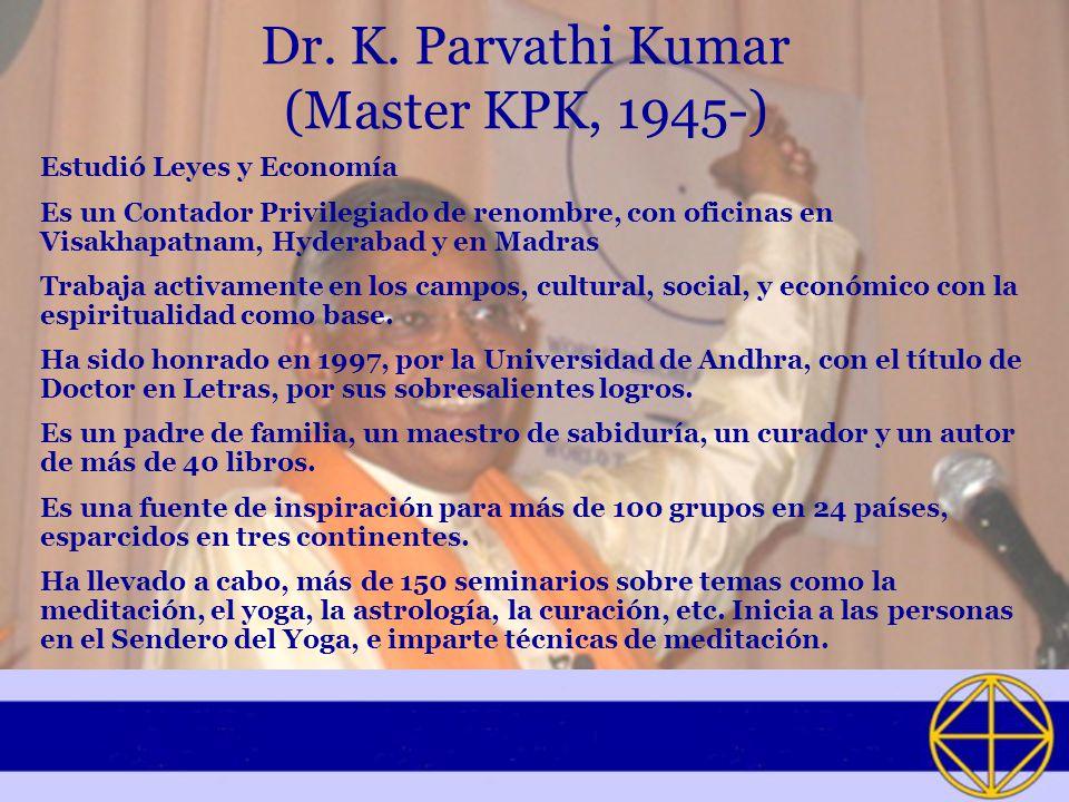 Dr. K. Parvathi Kumar (Master KPK, 1945-)