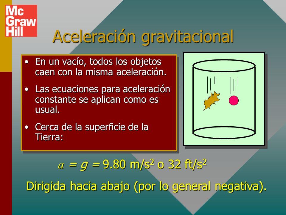 Aceleración gravitacional