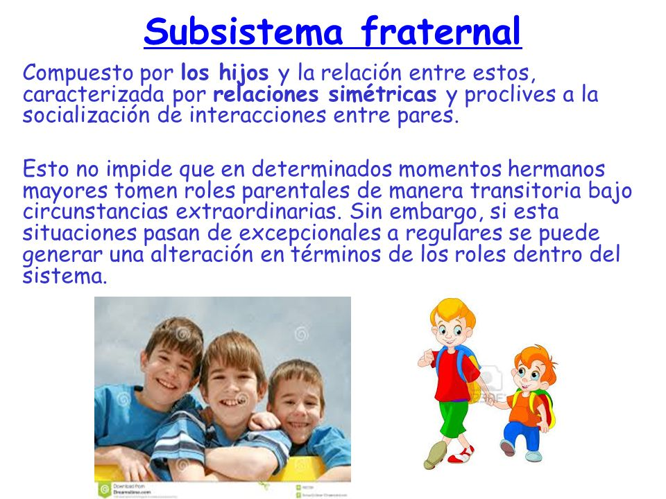 Subsistema fraternal