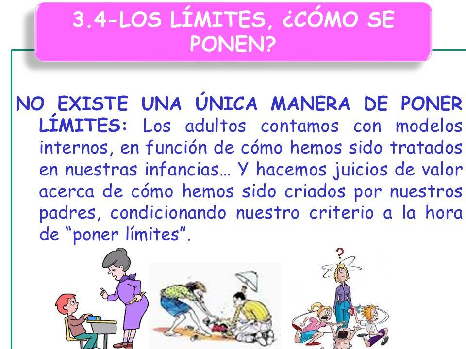 3.4-LOS LÍMITES, ¿CÓMO SE PONEN