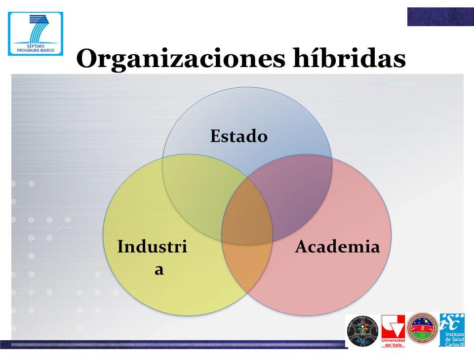 Organizaciones híbridas