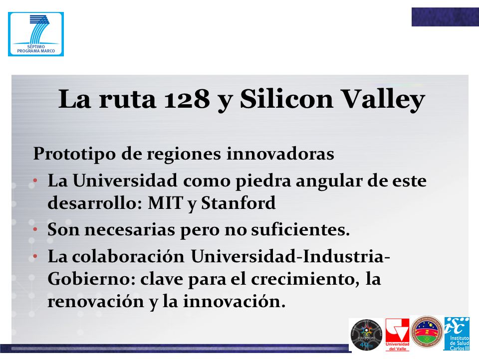 La ruta 128 y Silicon Valley