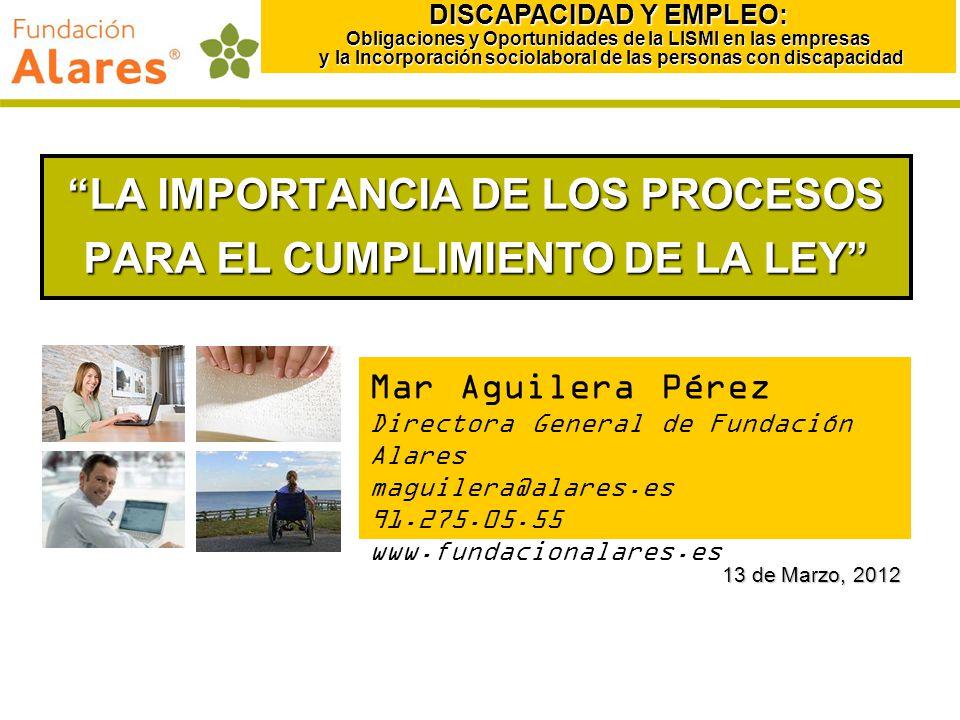 LA IMPORTANCIA DE LOS PROCESOS PARA EL CUMPLIMIENTO DE LA LEY