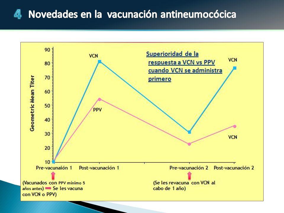 En el estudio pivotal 3005 que incluyó adultos de al menos 70 años de edad que habían sido vacunados con una dosis de 23 valente al menos 5 años antes del estudio, se asignó a los sujetos a recibir una dosis única de 13 o 23 valente.