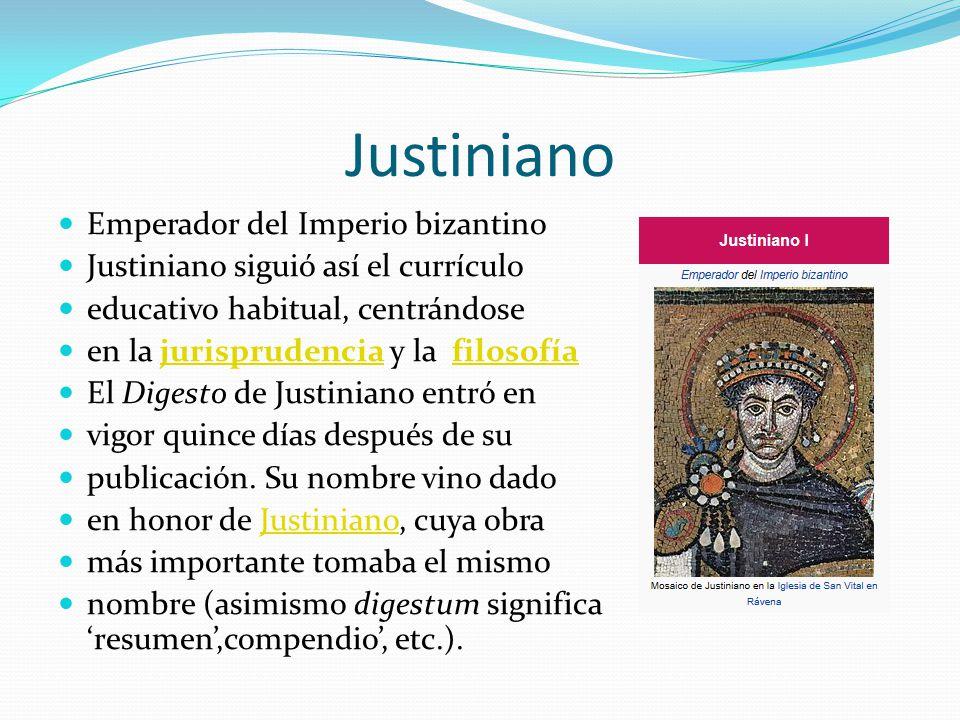 Justiniano Emperador del Imperio bizantino