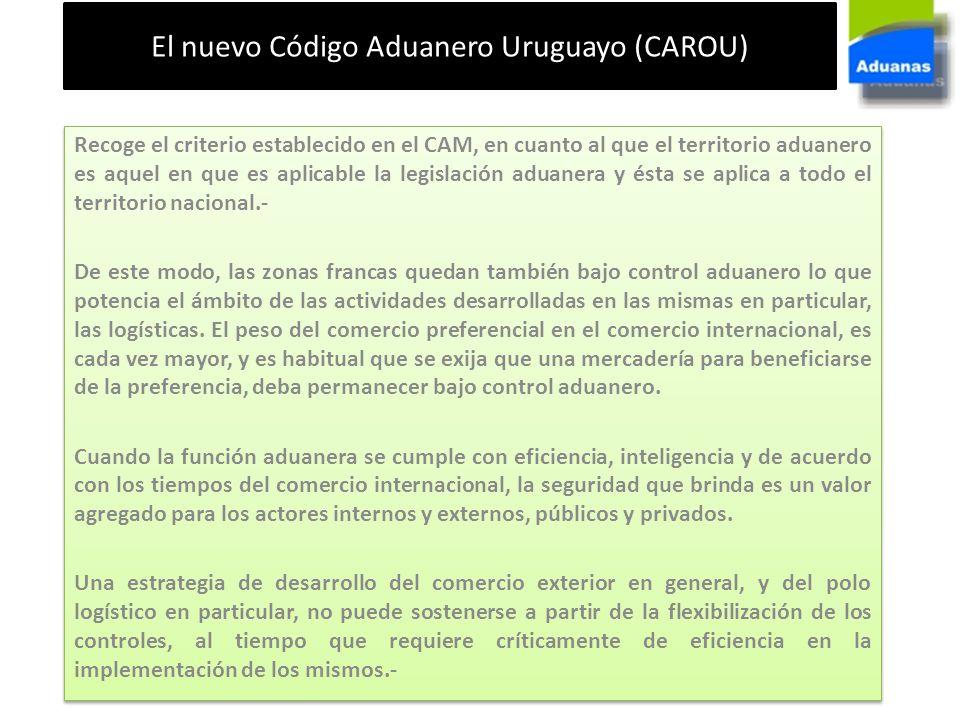 El nuevo Código Aduanero Uruguayo (CAROU)