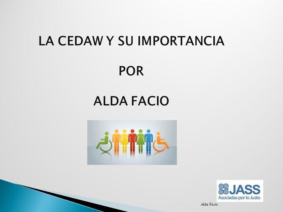 LA CEDAW Y SU IMPORTANCIA