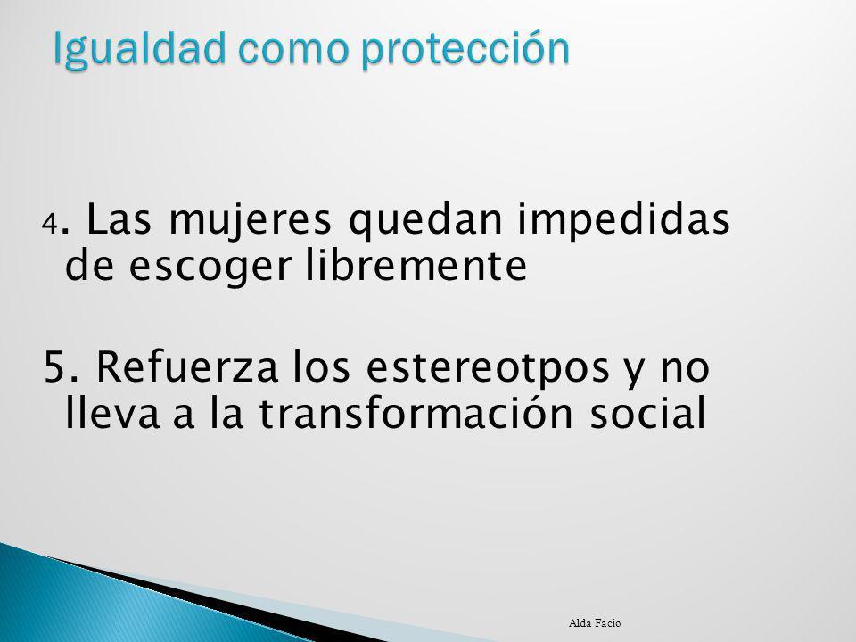 Igualdad como protección