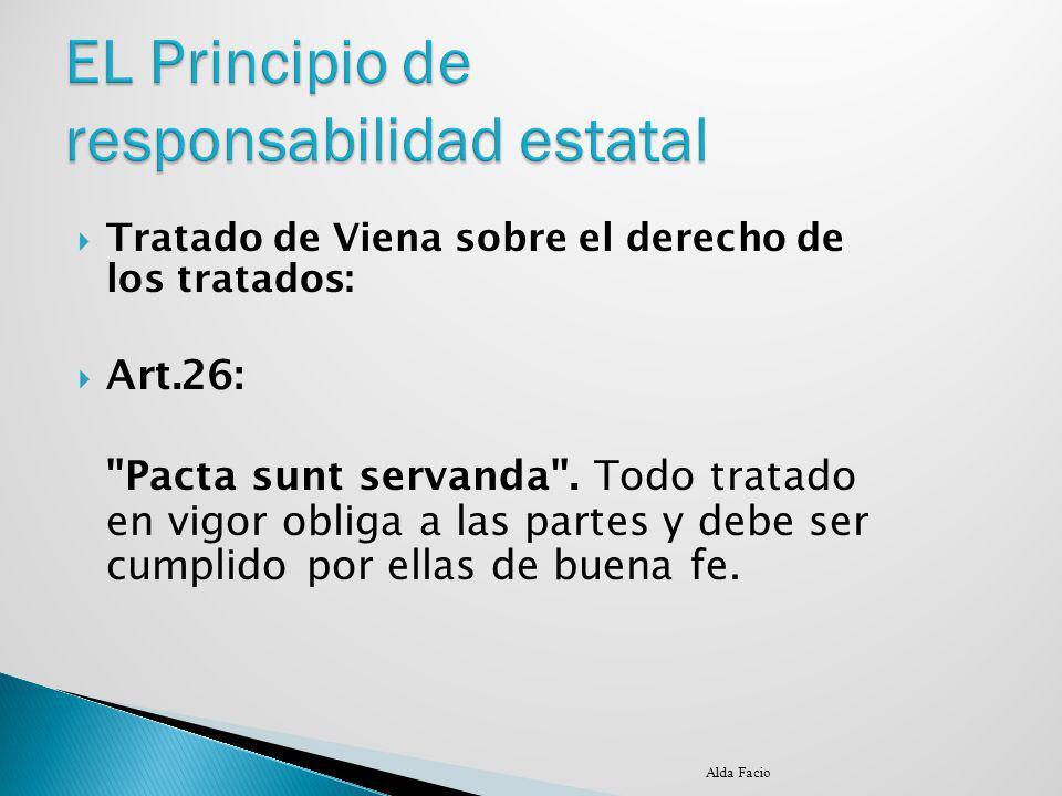 EL Principio de responsabilidad estatal
