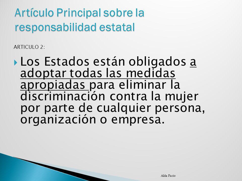Artículo Principal sobre la responsabilidad estatal