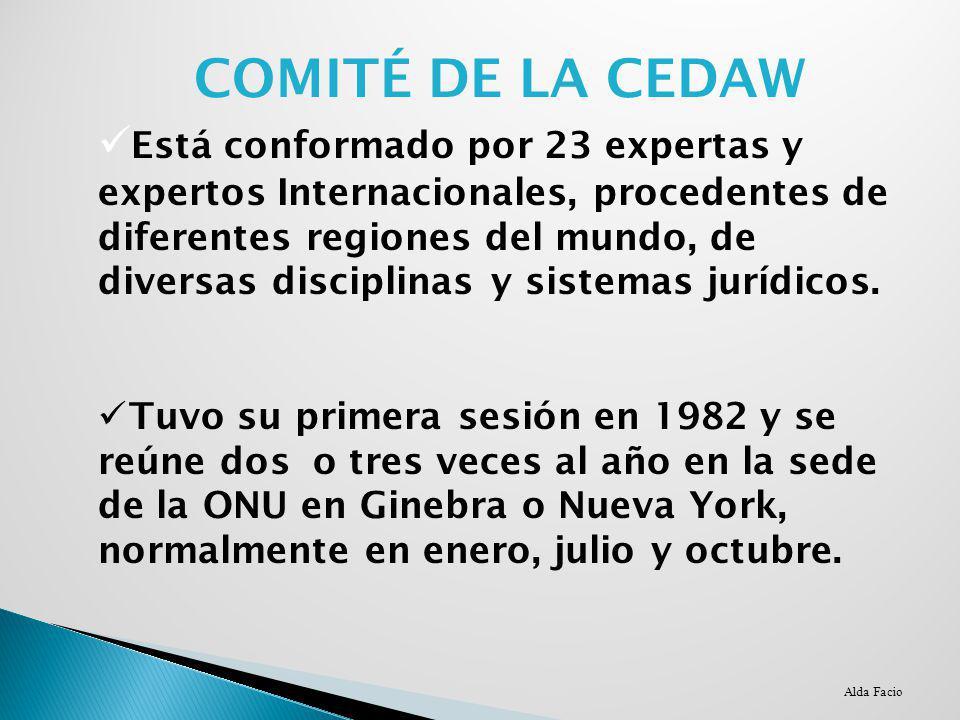 COMITÉ DE LA CEDAW