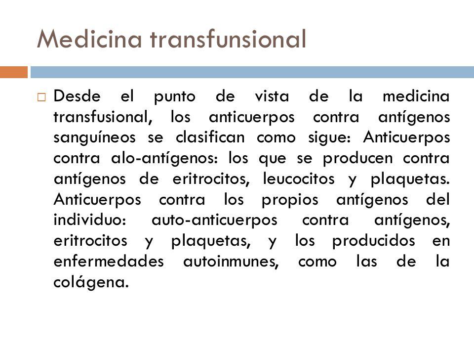 Medicina transfunsional