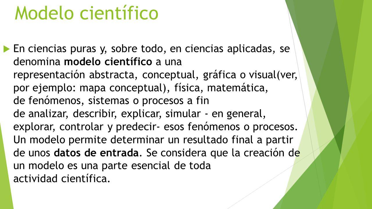 Modelo científico