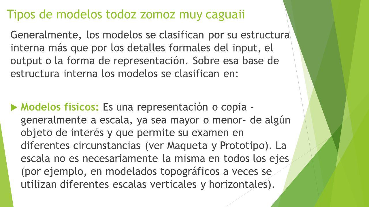 Tipos de modelos todoz zomoz muy caguaii