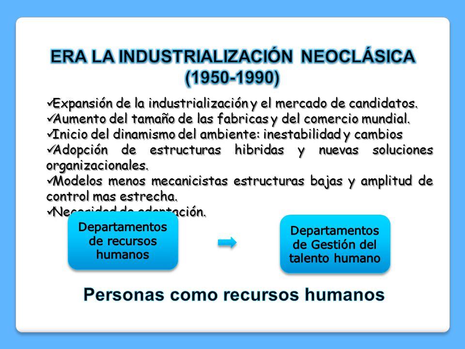 Personas como recursos humanos