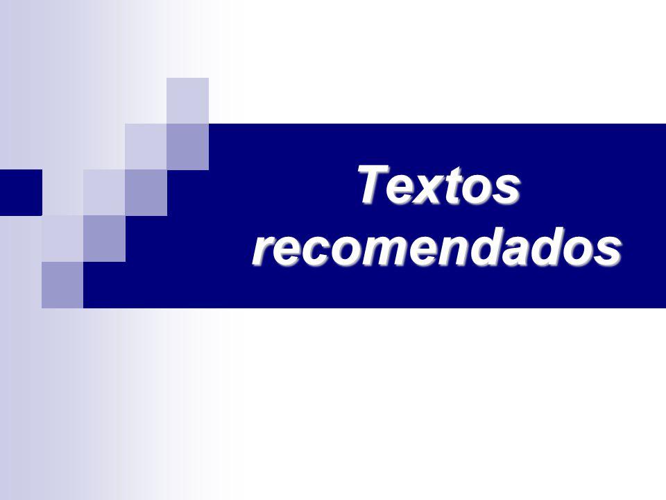 Textos recomendados