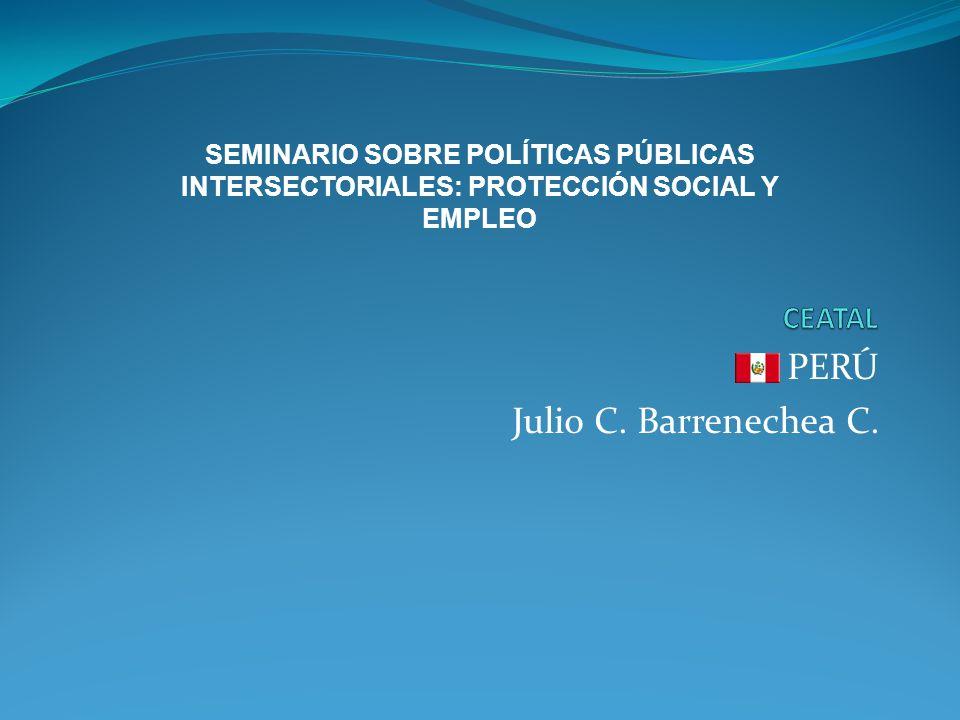 PERÚ Julio C. Barrenechea C.