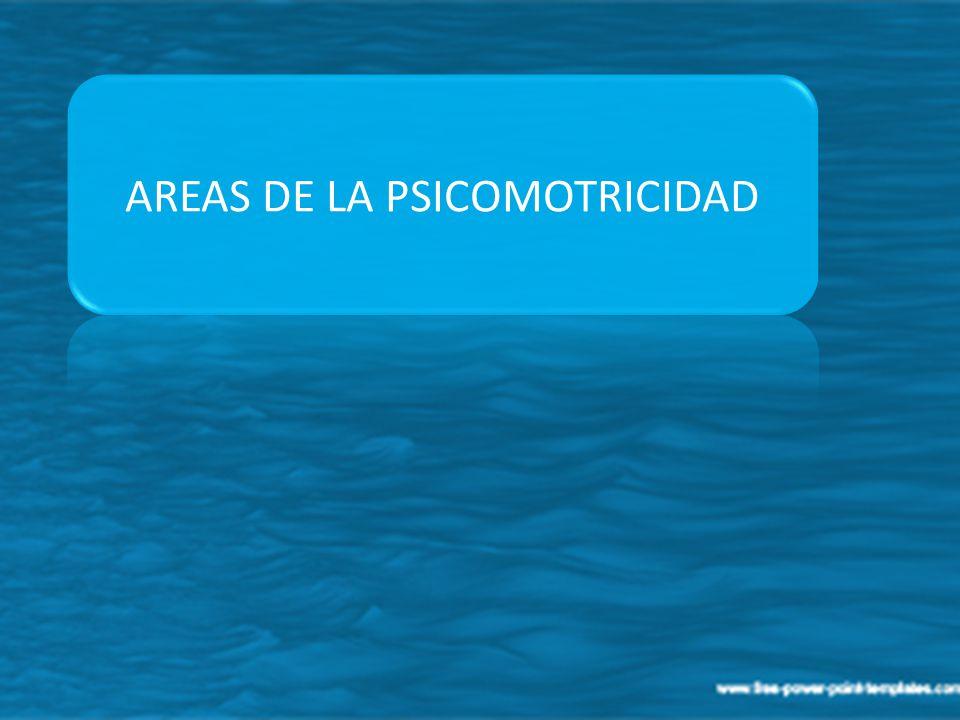 AREAS DE LA PSICOMOTRICIDAD