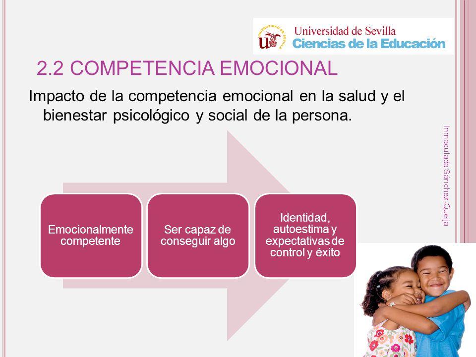 2.2 COMPETENCIA EMOCIONAL