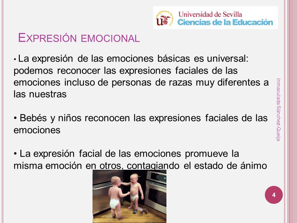 Expresión emocional