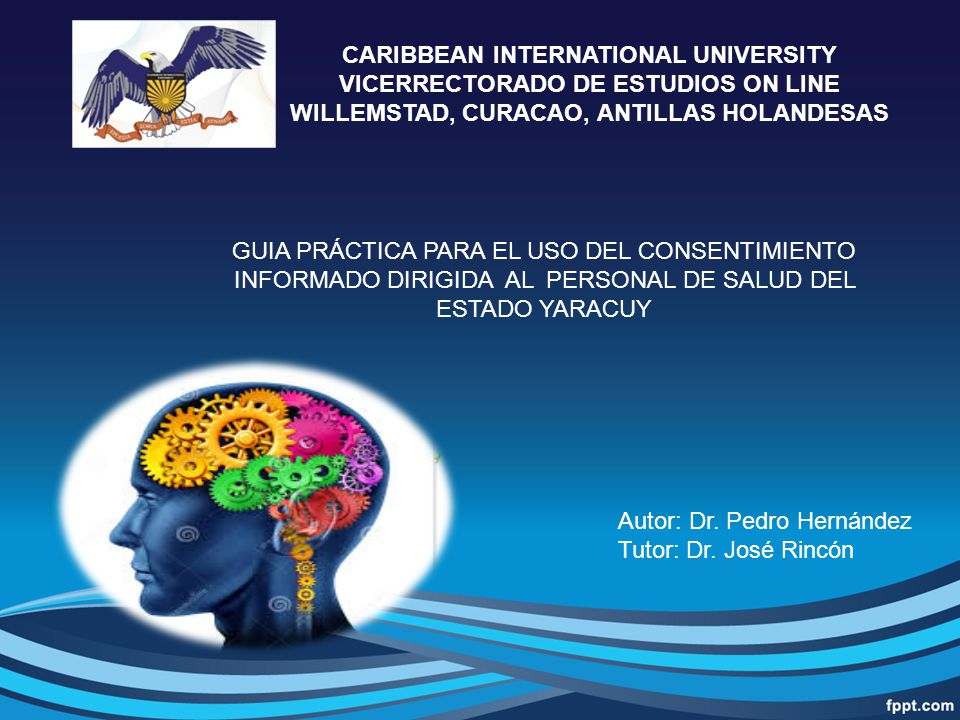 CARIBBEAN INTERNATIONAL UNIVERSITY VICERRECTORADO DE ESTUDIOS ON LINE