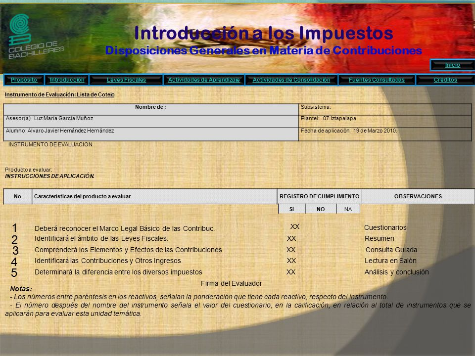 REGISTRO DE CUMPLIMIENTO