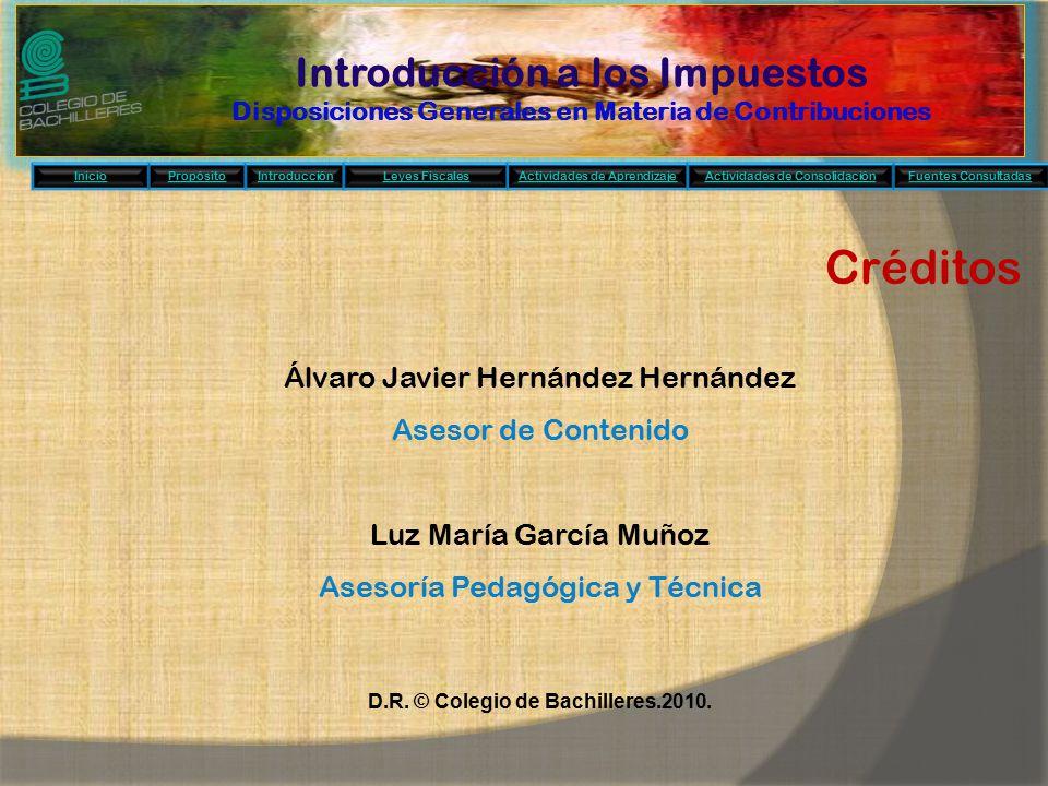 D.R. © Colegio de Bachilleres.2010.