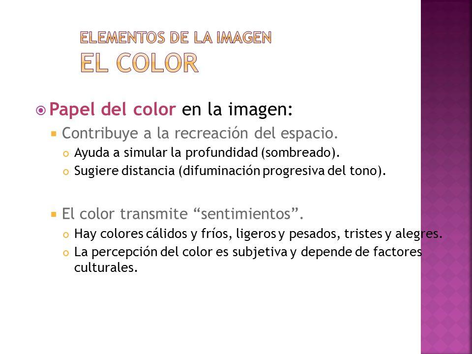 Elementos de la imagen El color