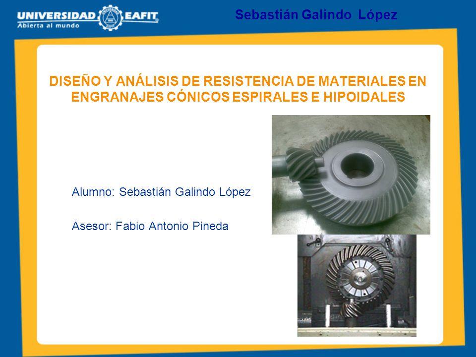 Alumno: Sebastián Galindo López Asesor: Fabio Antonio Pineda