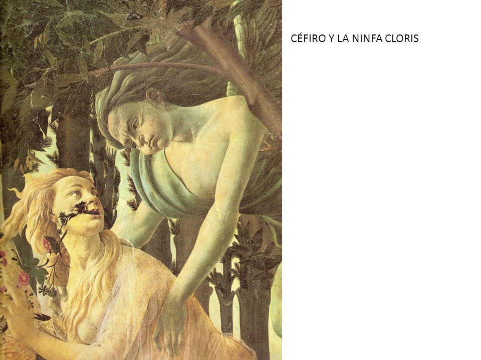 CÉFIRO Y LA NINFA CLORIS