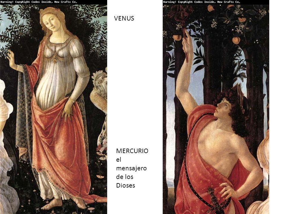 VENUS MERCURIO el mensajero de los Dioses