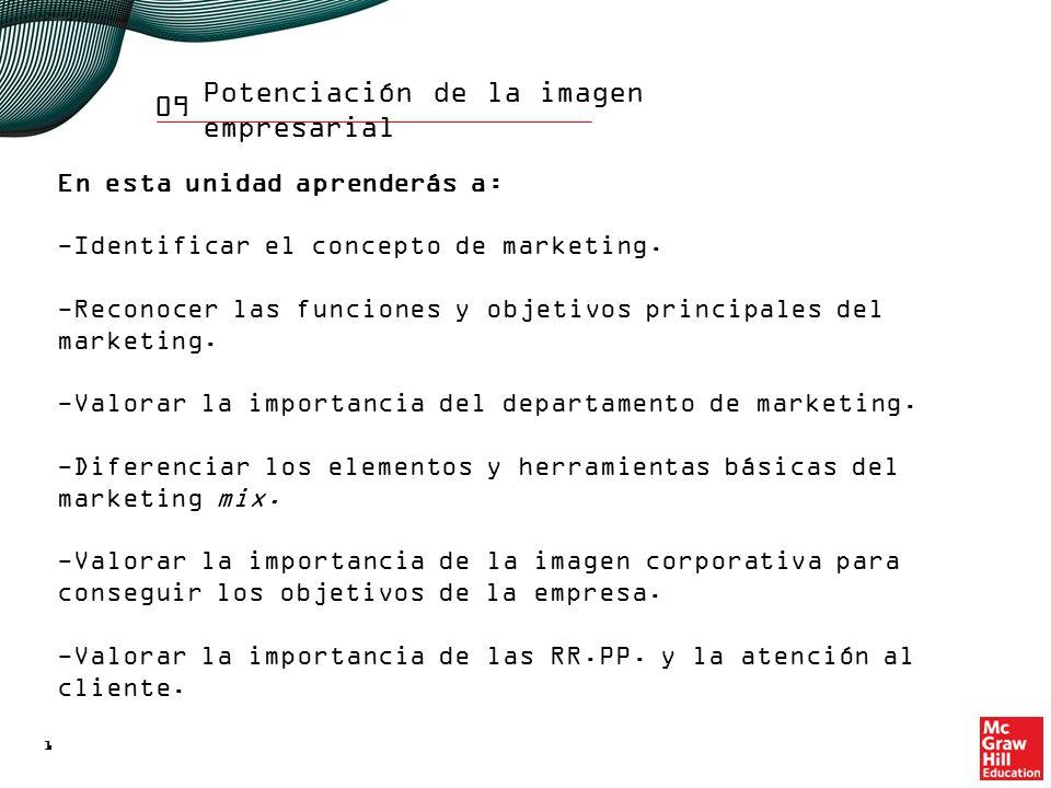 09 Estudiarás: La función comercial de la empresa.