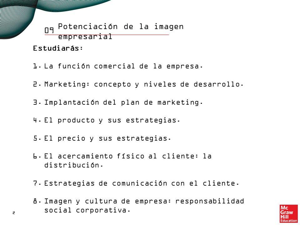 1. La función comercial de la empresa