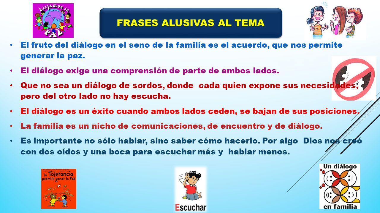 FRASES ALUSIVAS AL TEMA