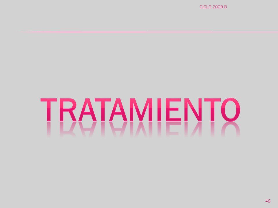 CICLO 2009-B tratamiento