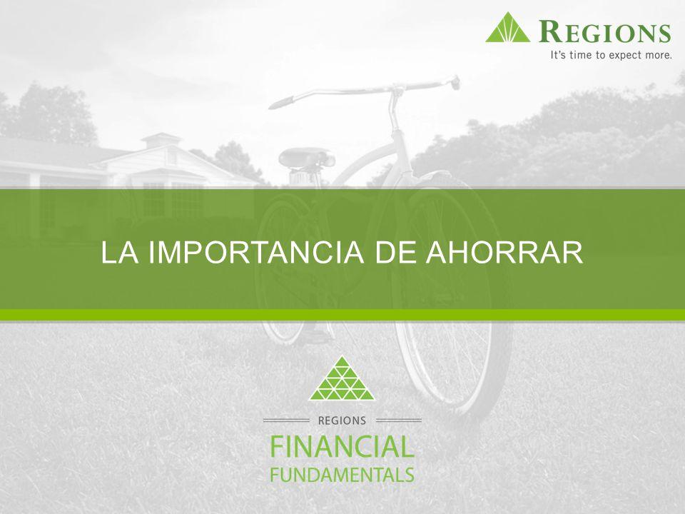 THE IMPORTANCE OF SAVING LA IMPORTANCIA DE AHORRAR
