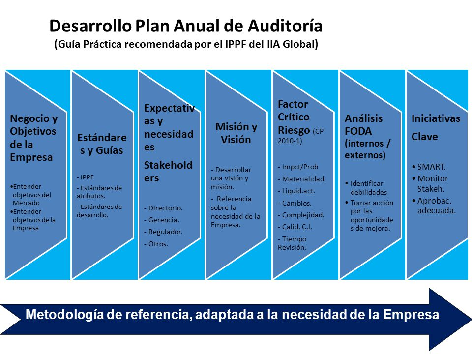 Desarrollo Plan Anual de Auditoría (Guía Práctica recomendada por el IPPF del IIA Global)