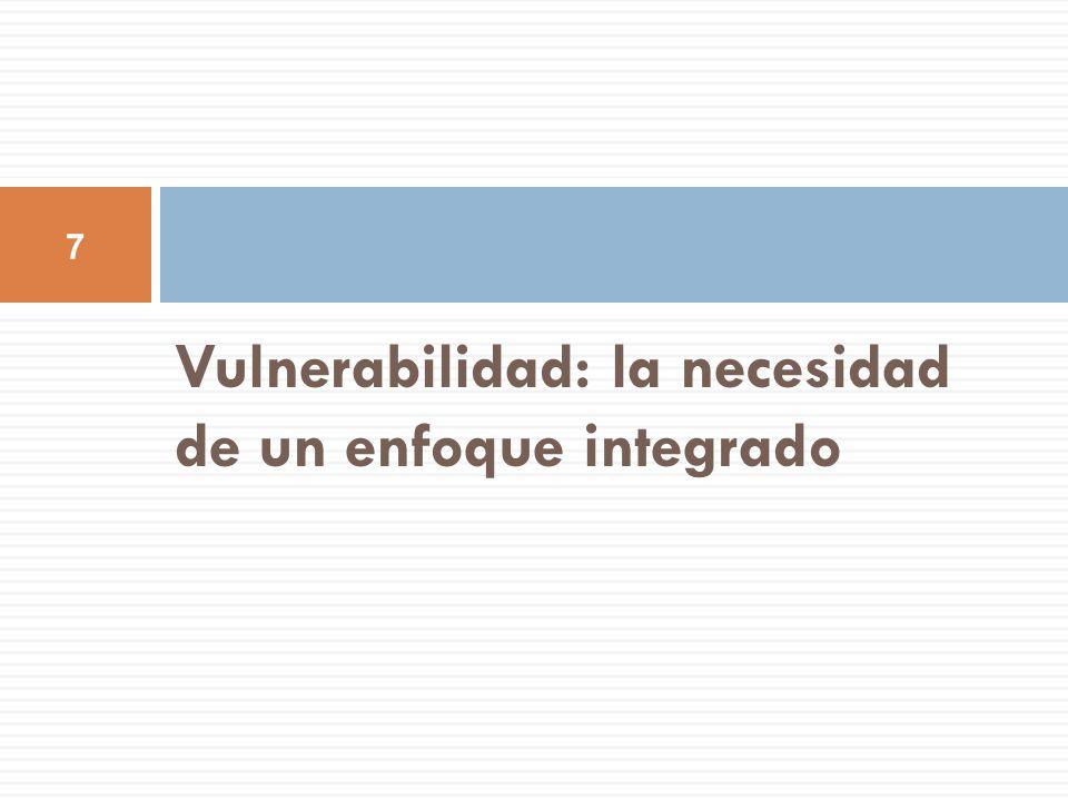 Vulnerabilidad: la necesidad de un enfoque integrado