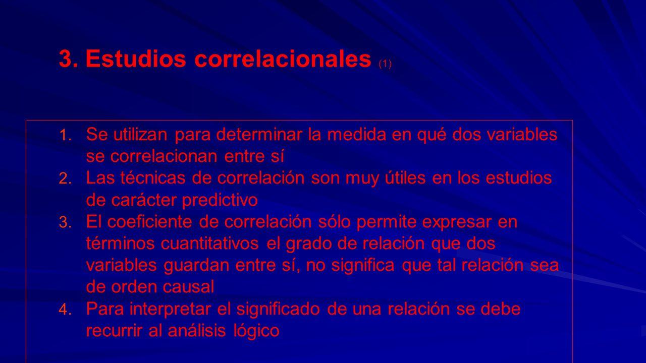 3. Estudios correlacionales (1)