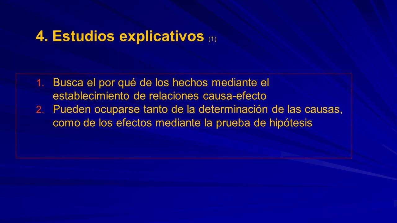 4. Estudios explicativos (1)