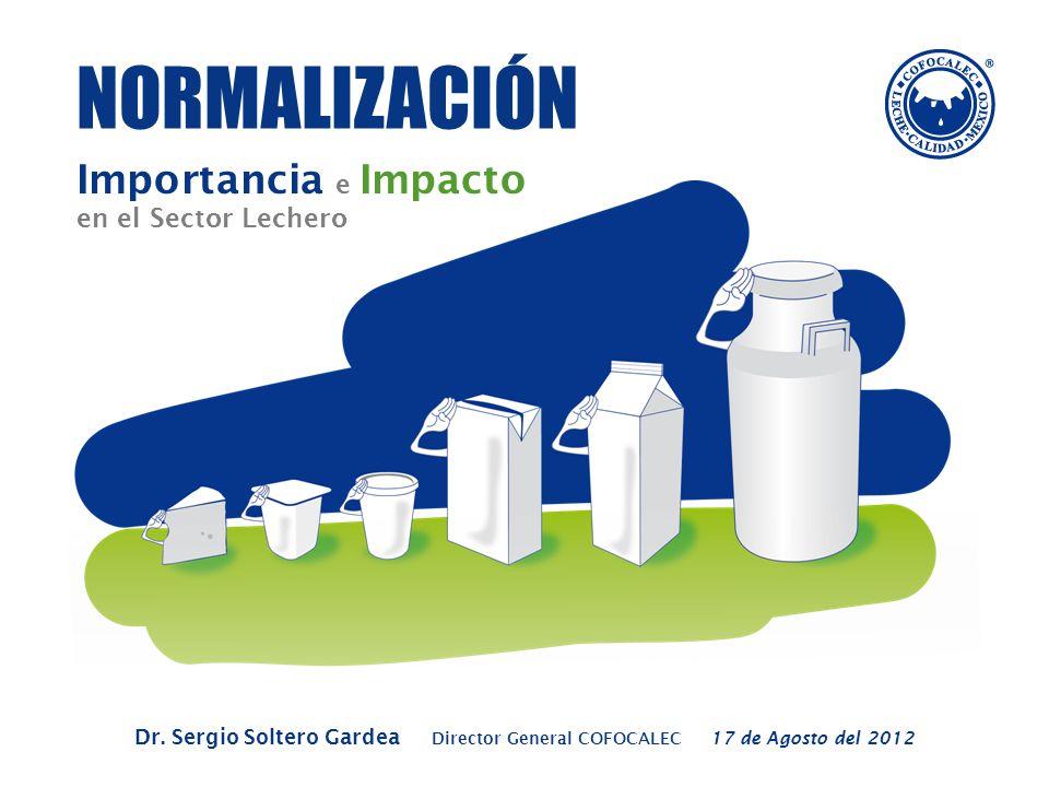 NORMALIZACIÓN Importancia e Impacto en el Sector Lechero