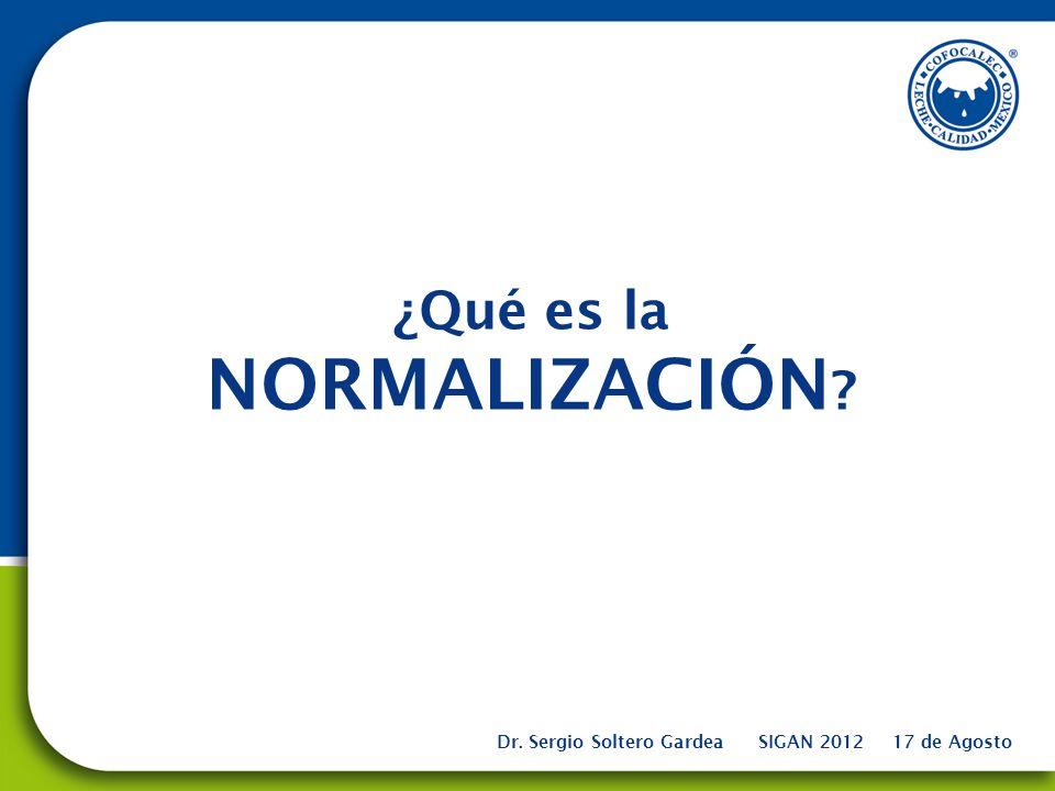 ¿Qué es la NORMALIZACIÓN
