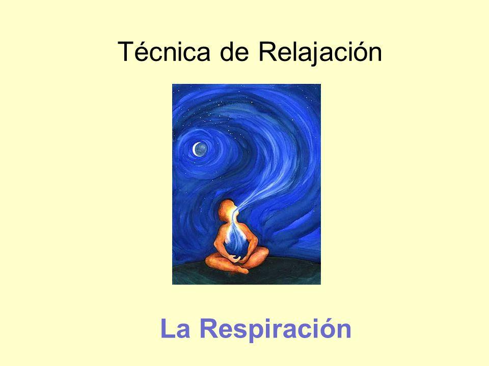 Técnica de Relajación La Respiración