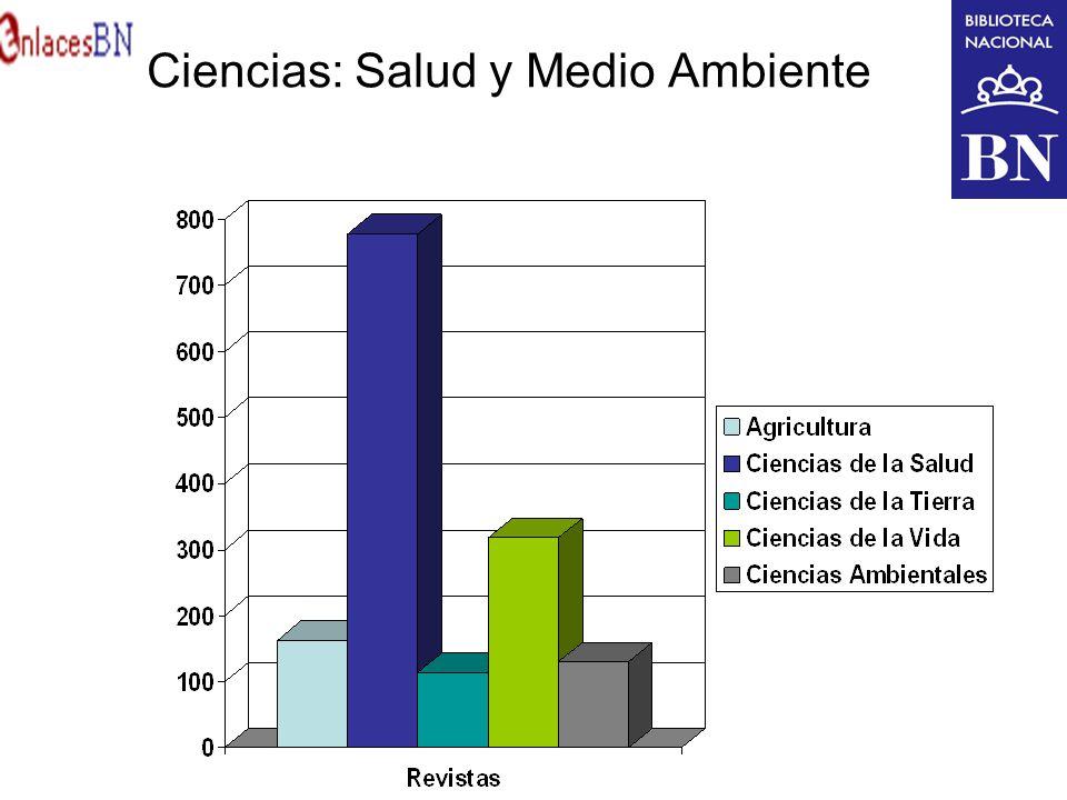 Ciencias: Salud y Medio Ambiente