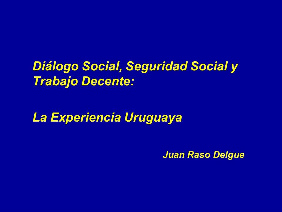 La Experiencia Uruguaya Juan Raso Delgue