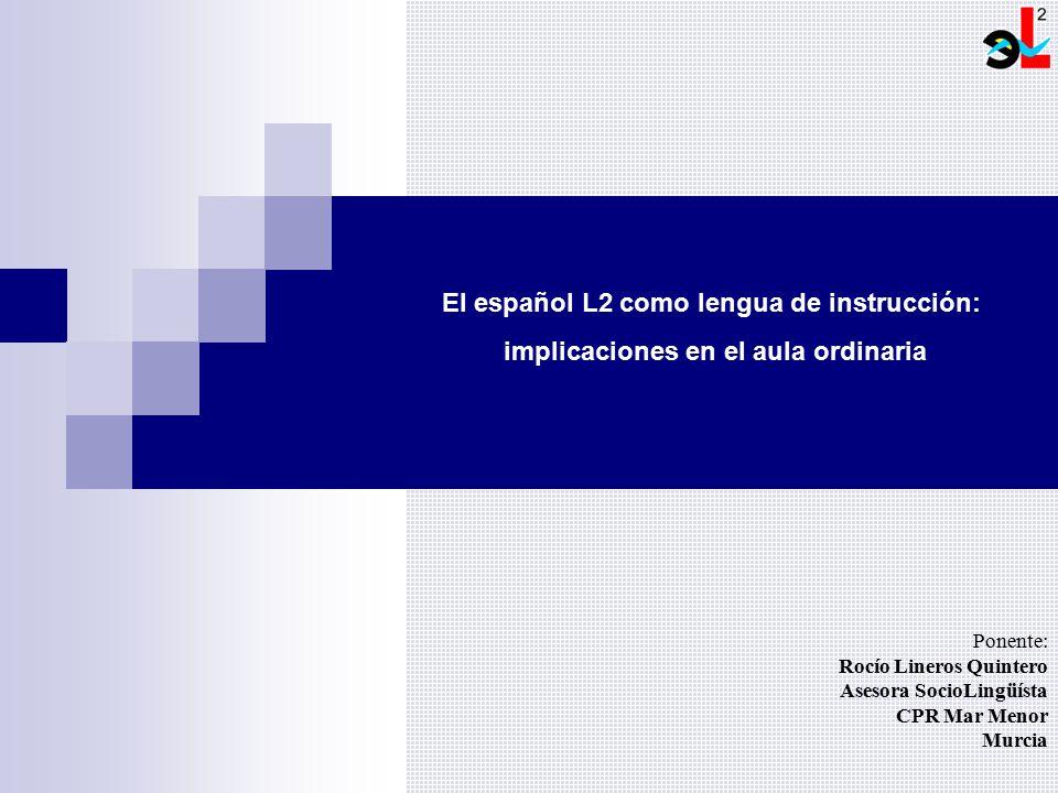 El español L2 como lengua de instrucción: